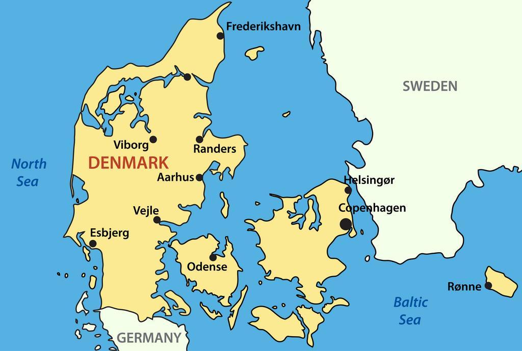 Byernes lokalisering - Undervisningsmateriale til geografi